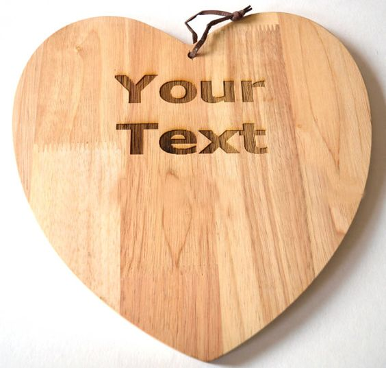 Personalised Laser Engraved Cutting Board, Chopping Board - Put your message or picture onto a chopping board for the perfect gift