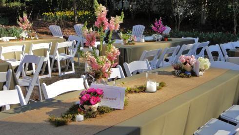 Rustic tea party wedding!