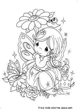 Precious Moments Girl With Flowers Coloring Pages Precious Moments Coloring Pages