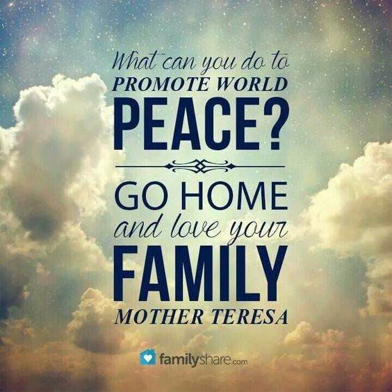 Promoting world peace every day!