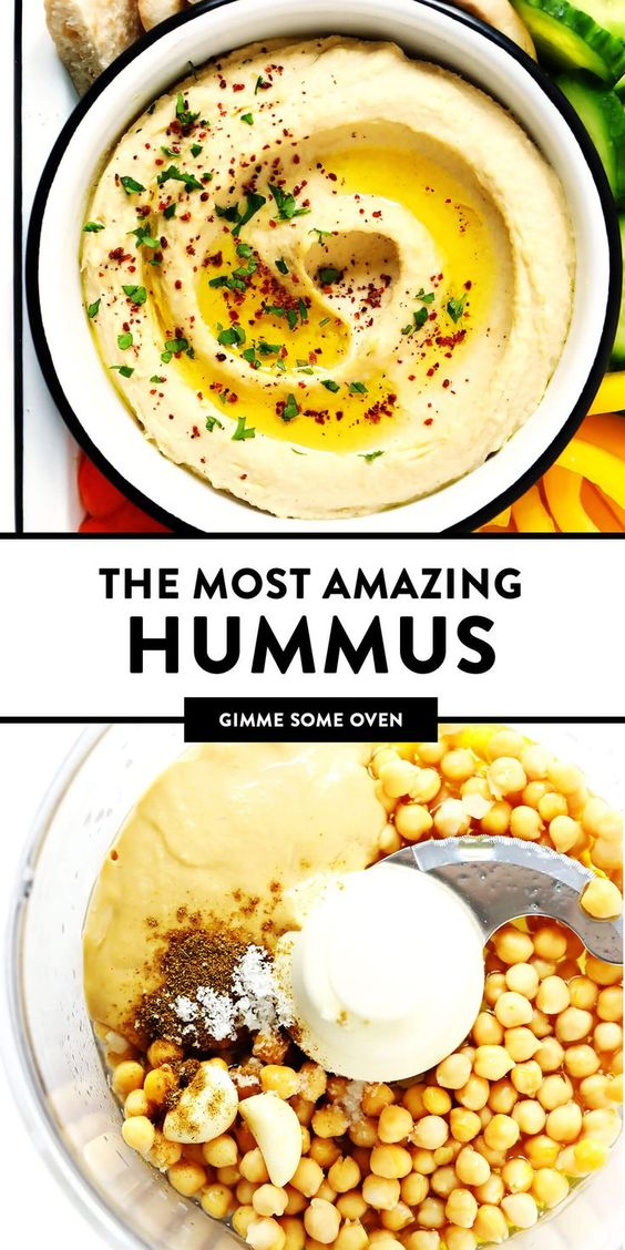The BEST Hummus Recipe! | Gimme Some Oven