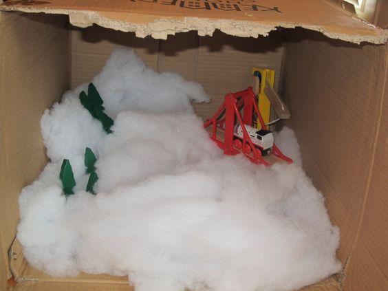 Winter Scene: Preschool Activities, Christmas Winter, Toddler Preschool, Winter Christmas, Simple Christmas, Winter Scenes, 300X225 Simple