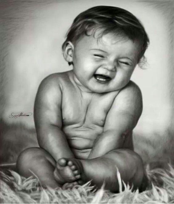 Realistic pencil drawing - baby … | Pinteres…