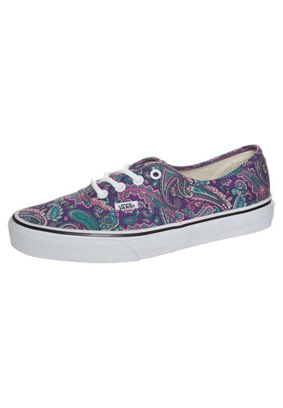 vans fleurie chaussure femme