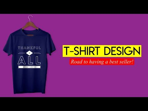Download T Shirt Design And Mock Up In Photoshop 2020 Youtube Create T Shirt Design Create T Shirt Shirt Designs