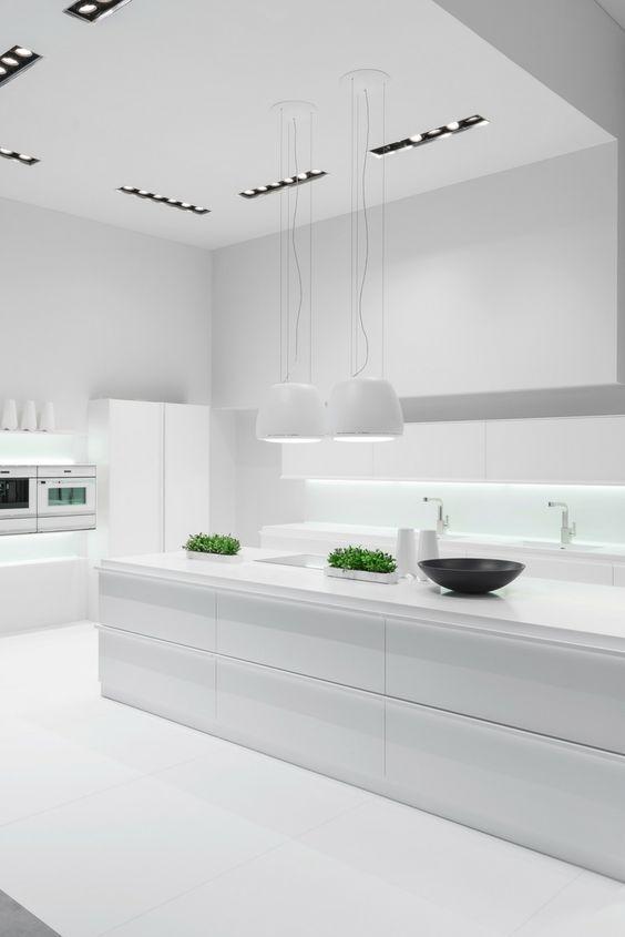 Hochglanz Fronten 5 Ideen und inspirierende Bilder mit Küchen in