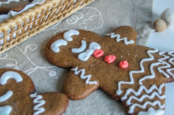 Galletas de jengibre (Gingerbread man cookies)