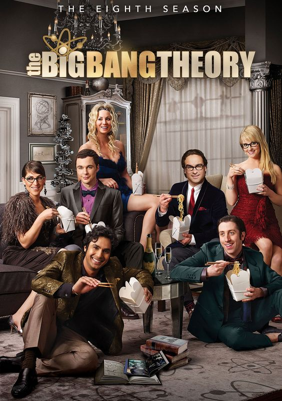 The Big Bang Theory - Season 8 [DVD]:Amazon.co.uk:DVD & Blu-ray