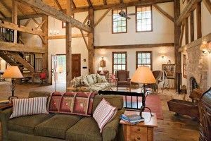 Love the barn turned home concept!