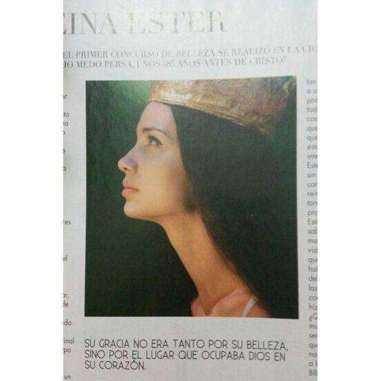 Ester- Su gracia no era tanto por su belleza, sino por el lugar que ocupaba Dios en su corazon.