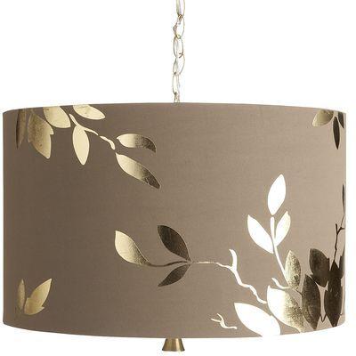 Gold Leaf Hanging Pendant Lamp I Love This Hanging Lamp