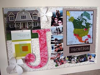 DIY Memo Board:: Love the idea of tracking your vacation destinations