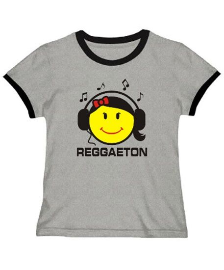 Polo Ringer Reggaeton - Female Smiley