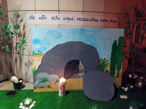 Triduo Pascal Semana Santa-Catequese de Infancia. Ramada, Portugal.