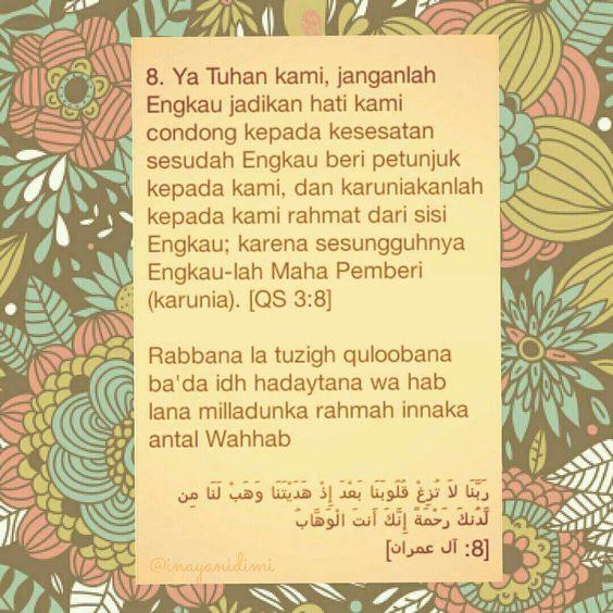 Rabbana Doa 8