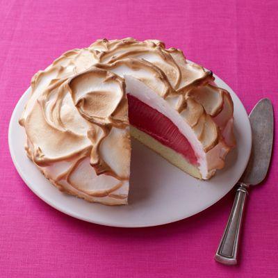 alaska raspberry sorbet alaska sorbet meringue lighter raspberries ...