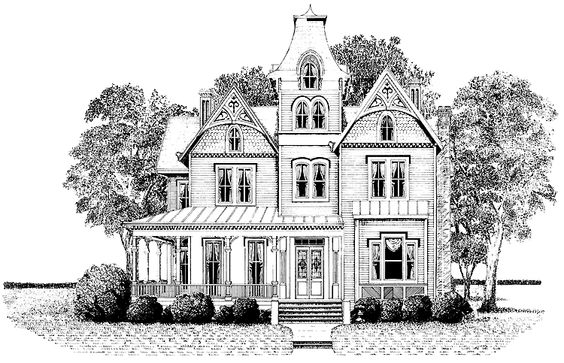 2nd empire style | ... - 3,436 Square Feet, 4 Bedroom 3 Bathroom Second Empire Home with