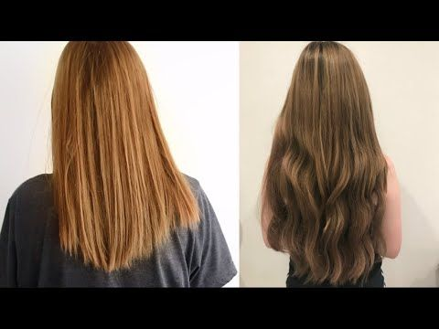 How To Apply Tape In Hair Extensions At Home Easy And Quick Tutorial 3 Wearcliphair Tapeins Hairextensi Hair Extensions Best Tape In Hair Extensions Hair