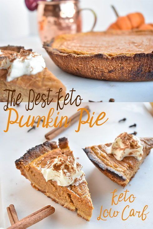 The Best Low Carb Pumpkin Keto Pie Perfect For Thanksgiving