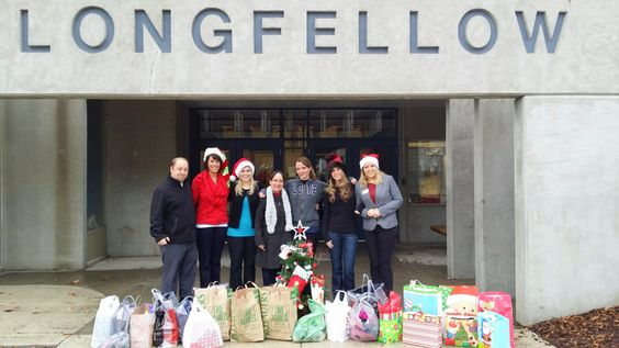For the past two weeks, elves have been scouring store shelves for just the right gifts to drop off to Longfellow Elementary. They were so appreciative. People helping people--it's what credit unions are all about.
