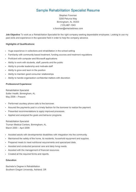 Sample Social Media Specialist Resume resame Pinterest - new media specialist sample resume