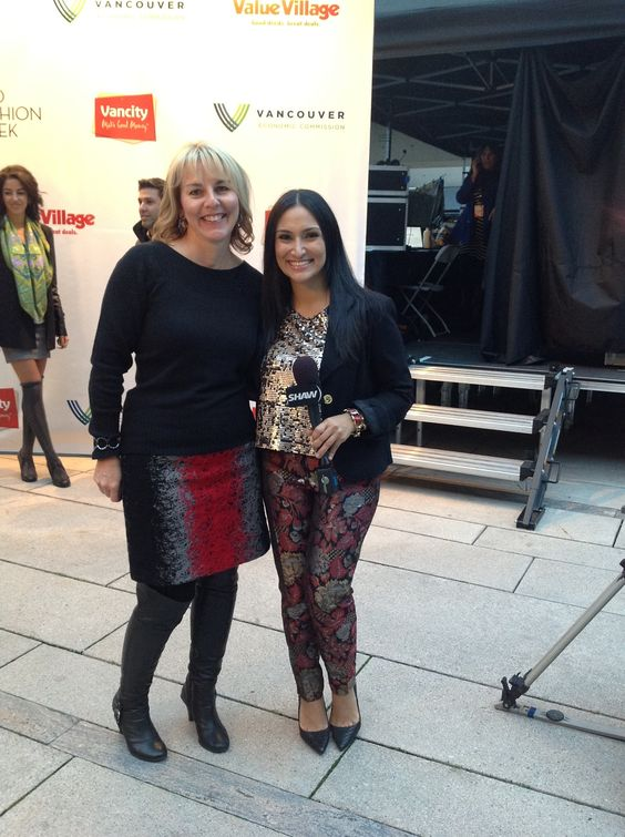 Thanks to Mana Mansour for a great interview! #ValueVillage #EcoFashionWeek #EFW05