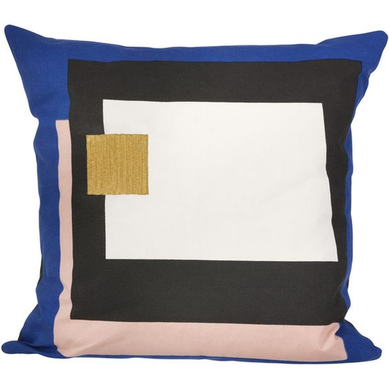 Fragment Cushion in Blue design by Ferm Living (¥9,920) ❤ liked on Polyvore featuring home, home decor, throw pillows, blue home accessories, blue throw pillows, ferm living, blue accent pillows and embroidered throw pillows