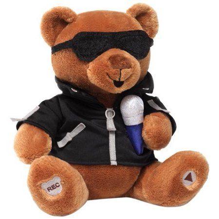Recordable Teddy Bear Walmart, Toys Huggable Teddy Bear Animated Plush Bear