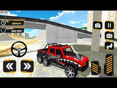Offroad Jeep Truck Driving Jeep Racing Games 2019 4x4 Suv Car
