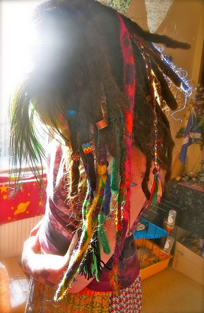 Wool synthetic dreadlocks. #dreadstop - We are Live at www.DreadStop.Com