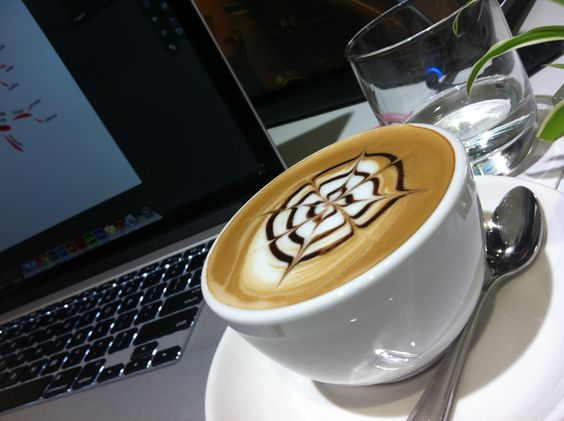 is all about coffee and art