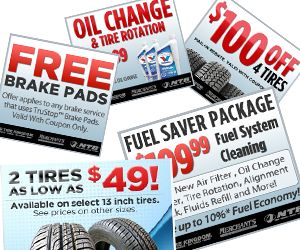 NTB Coupons  Deals August 2012 for Tires, Oil Change, Wheel Alignments