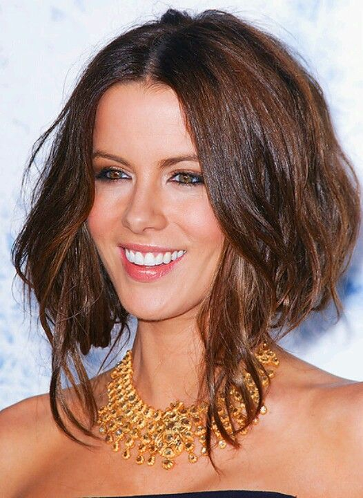 Excellent Bobs Long Bobs And Curly Lob On Pinterest Hairstyle Inspiration Daily Dogsangcom