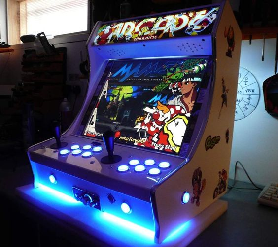 Mini Arcade Machine Arcade Cabinet Pinterest Arcade