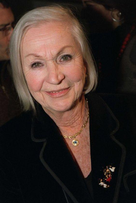 Ginette Garcin   actrice française  1928 --  2010  l'hommage de Frédéric Mitterrand