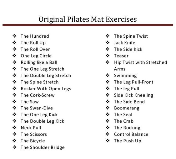 Exercise And Originals On Pinterest
