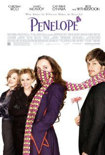 2006 fantasy/comedy/romance starring Christina Ricci as Penelope, a pig-faced girl searching for love. My dad found this on Netflix in January 2014 and knew I'd want to see it because it seemed to be inspired by my fave Twilight Zone episode. He and my mom liked this too! Despite the concept, a beautiful film!