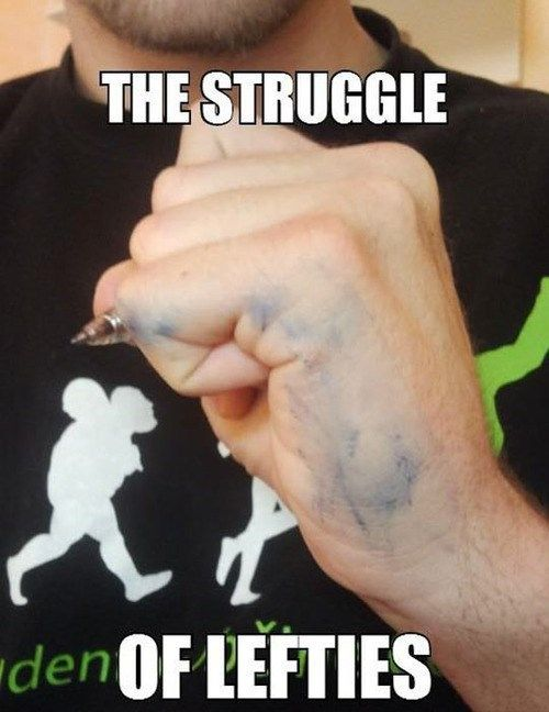Turn Left 12 Memes For Lefties So True They Re Funny Left Handed Problems Left Handed Memes Left Handed Facts