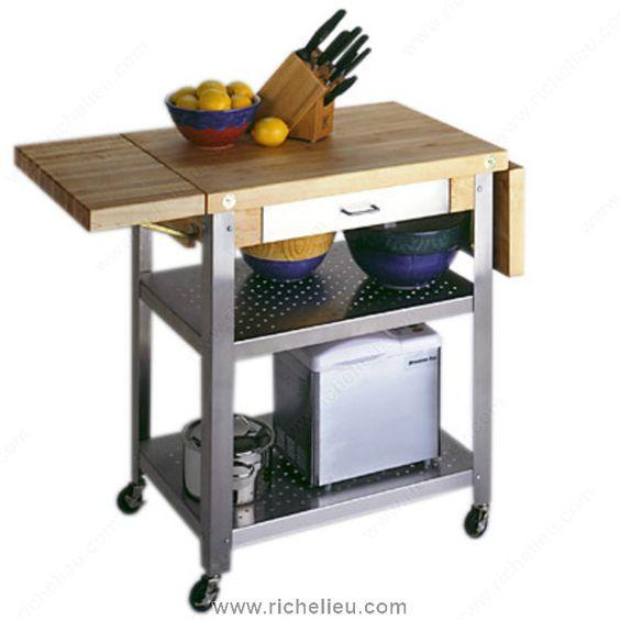 Butcher Block Trolley - 5020134 - Richelieu Hardware