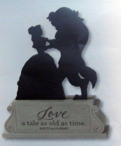 Hallmark Disney DYG9649 Beauty and The Beast Silhouette | eBay