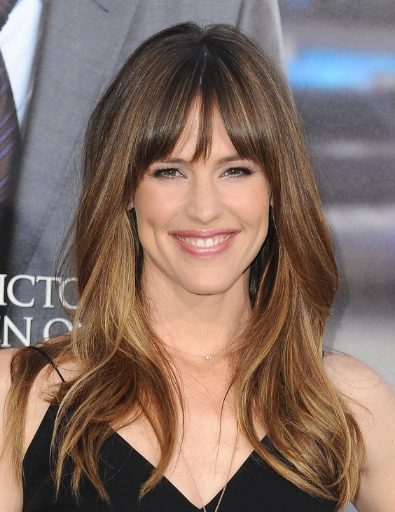 The Best Hairstyles for Each Face Shape   Piecey Bangs   Hairstyle on Point