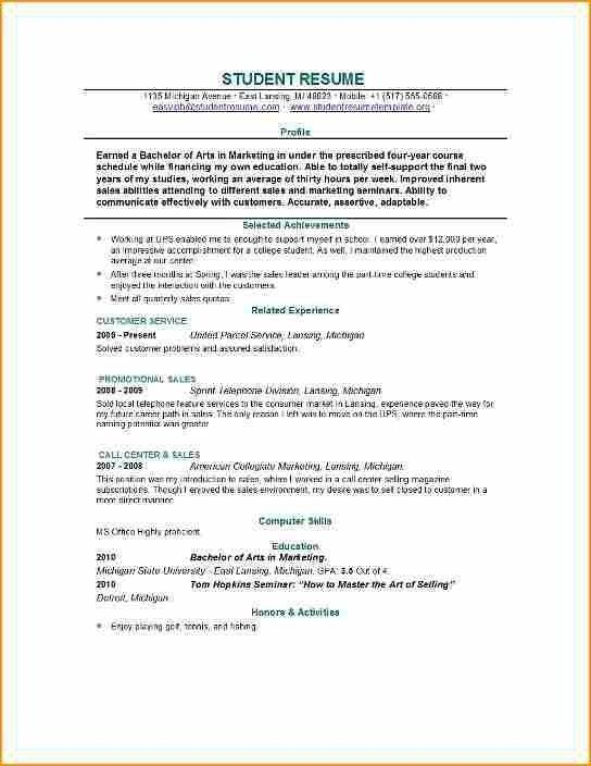 Resume Examples For 14 Year Olds With Images Job Resume