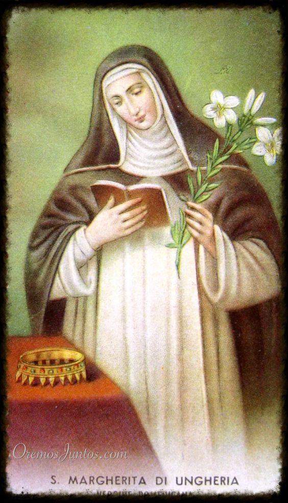 Santa Margarita de Hungría, Enero 18