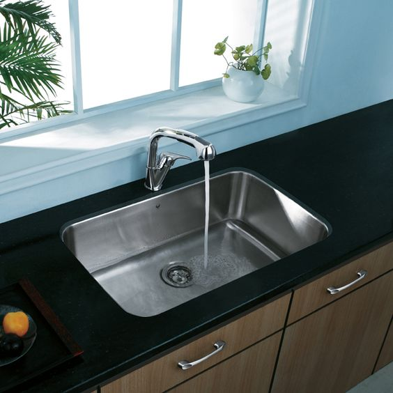 Large Kitchen Sinks Undermount : Large-Undermount-Stainless-Steel-Kitchen Dream Home Pinterest ...