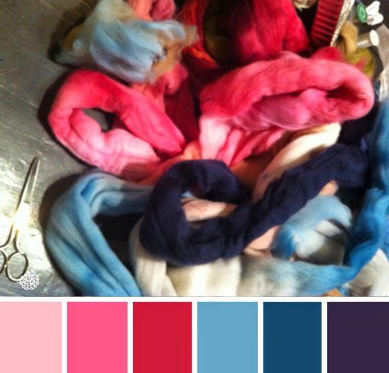 Chama Navarro Arcilla polimérica y más...: Paletas de color