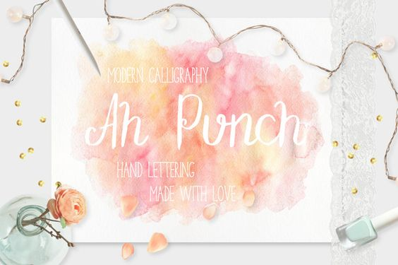 Ah Punch by Julia Dreams on Creative Market