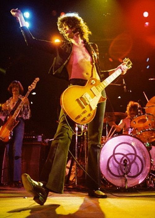 Jimmy Page in 1973!! He is the definition of ultimate infinite coolness!!!!!!!: