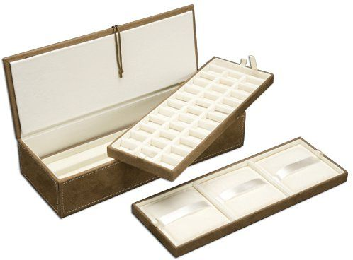 $30.00 Pandora Bracelet and Charm jewelry Storage box organizer with compartments dividers