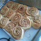 Danish Cinnamon Snails Recipe with cardamon in dough. Wonder if this will work as a wreath instead of as snails.