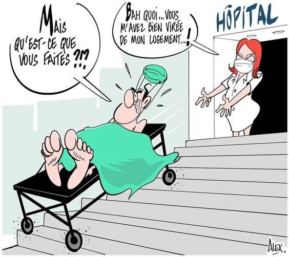 A tous ceux qui virent les soignants de chez eux, est une image drôle publiée le 3 Avril 2020 par villedieu.francois. Réagissez à cette image drole et d'actualité